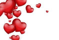 вектор иллюстрации карточки романтичный Стоковая Фотография