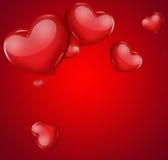 вектор иллюстрации карточки романтичный Стоковое Фото