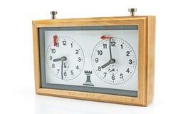 вектор иллюстрации контура часов шахмат Стоковое Фото
