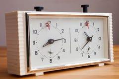 вектор иллюстрации контура часов шахмат Стоковая Фотография