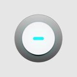 Вектор иллюстрации пользовательского интерфейса кнопки Стоковые Изображения