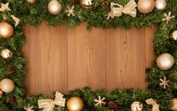 вектор иллюстрации рождества eps10 знамени Стоковые Фотографии RF
