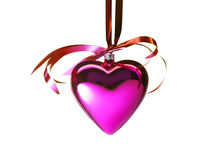 вектор иллюстрации сердца формы рождества eps8 ai Стоковая Фотография