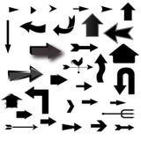 вектор иллюстрации стрелок установленный Стоковые Фотографии RF