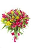 вектор иллюстрации цветков букета флористический Стоковое Изображение