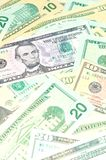 вектор иллюстрации элемента доллара конструкции предпосылки Стоковая Фотография RF