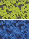 вектор камуфлирования цифровой Стоковое Изображение RF