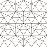 вектор картины безшовный Геометрическая предпосылка с косоугольником и n иллюстрация вектора