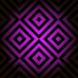 вектор картины безшовный Декоративный элемент, шаблон дизайна с striped чернотой и линии пинка раскосные склонные Справочная инфо иллюстрация вектора