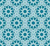 вектор картины безшовный Красочный этнический орнамент Стиль арабескы искусство исламское Стоковое Изображение