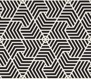 вектор картины безшовный самомоднейшая стильная текстура Повторять геометрический tiling от striped elementsr треугольника Стоковое фото RF