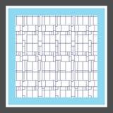 вектор картины безшовный самомоднейшая стильная текстура абстрактные линии предпосылки иллюстрация вектора