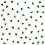 вектор картины безшовный самомоднейшая стильная текстура Повторять геометрические плитки Состав от треугольников Стоковое Изображение