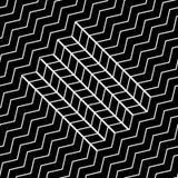 вектор картины безшовный самомоднейшая стильная текстура Стоковые Изображения RF