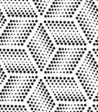 вектор картины безшовный Современная геометрическая предпосылка точек Стоковые Фотографии RF