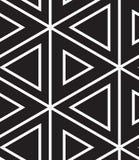 вектор картины безшовный Современная линейная геометрическая текстура Стоковое Изображение RF