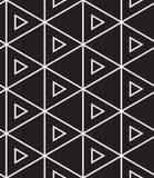 вектор картины безшовный Современная линейная геометрическая текстура Стоковое Фото
