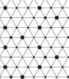 вектор картины безшовный Современная линия геометрическая предпосылка Стоковые Фото