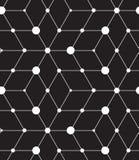 вектор картины безшовный Современная линия геометрическая предпосылка Стоковое фото RF