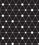 вектор картины безшовный Современная линия геометрическая предпосылка Стоковые Изображения