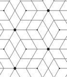 вектор картины безшовный Современная линия геометрическая предпосылка Стоковое Изображение RF