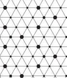 вектор картины безшовный Современная линия геометрическая предпосылка Стоковое Изображение