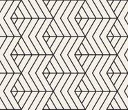 вектор картины безшовный Современная стильная абстрактная текстура Повторять геометрические плитки Стоковое Фото
