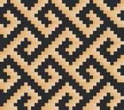 вектор картины безшовный Современная стильная абстрактная текстура Стоковое Фото