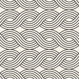 вектор картины безшовный Современная стильная абстрактная текстура Повторение волнистого геометрического tilesn бесплатная иллюстрация