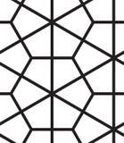 вектор картины безшовный Современная стильная линия, шестиугольник геометрический Стоковые Фото