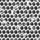 вектор картины безшовный Творческая геометрическая голубая и белая предпосылка с косоугольником Стоковое Фото