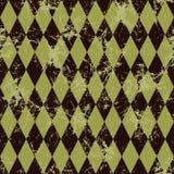 вектор картины безшовный Творческая геометрическая коричневая предпосылка с косоугольником Стоковое фото RF