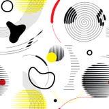 вектор картины безшовный Универсалия повторяя геометрический конспект Стоковое Изображение