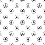 Вектор картины заботы клиента безшовный бесплатная иллюстрация