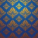 Вектор картины золота голубой Стоковая Фотография