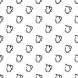 Вектор картины кувшина безшовный иллюстрация вектора
