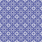 вектор картины орнамента безшовный Стоковое Изображение RF