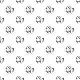 Вектор картины сыгранности головоломки безшовный иллюстрация штока