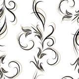 вектор картины цветка безшовный Стоковая Фотография RF
