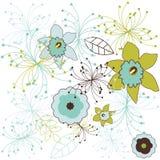 вектор картины цветка Стоковое Изображение RF