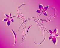 вектор картины цветка Стоковое фото RF