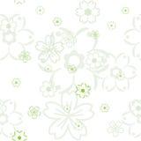вектор картины цветка Стоковое Фото