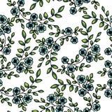 вектор картины цветков безшовный иллюстрация вектора