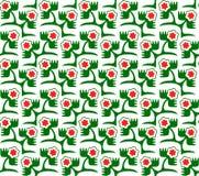 вектор картины цветков безшовный Бесплатная Иллюстрация