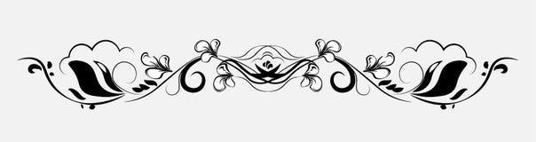 Вектор картины цветков Стоковое Изображение