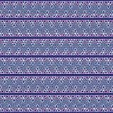 Вектор картины Шеврона Мемфиса безшовный Стоковое Изображение RF