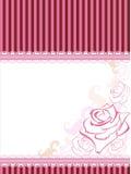 вектор карточки розовый Иллюстрация вектора
