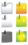 вектор квадрата иллюстрации яблок Стоковое Изображение RF