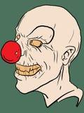 вектор клоуна Стоковые Изображения