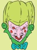 вектор клоуна Стоковая Фотография RF